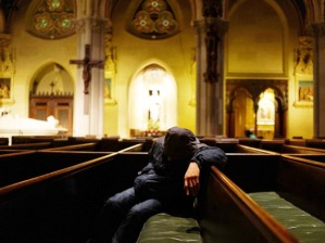 Times Square Area Church Serves As Refuge From Cold For Homeless